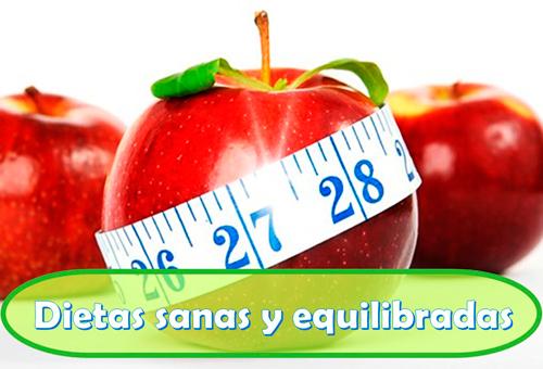 dietas sanas y dietas equilibradas